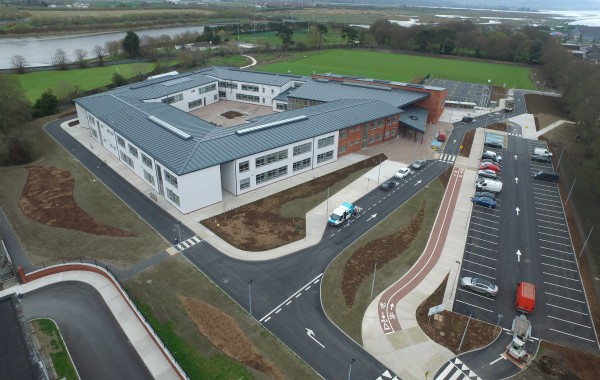 Official Opening of New School Building in St Mary's College, Dundalk