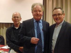 David Corrigan sm, Kevin Jennings, Rev Eamonn Conway